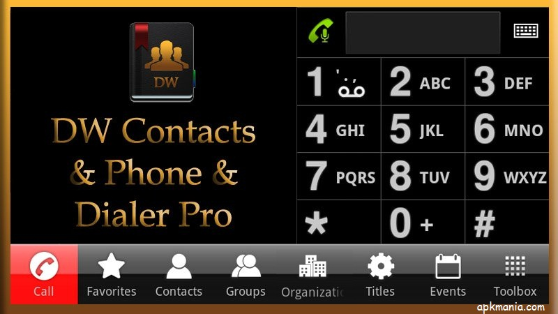 DW Contacts Phone Dialer v2.9.9.1-pro