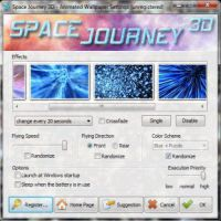 Space Journey 3D Animated Wallpaper