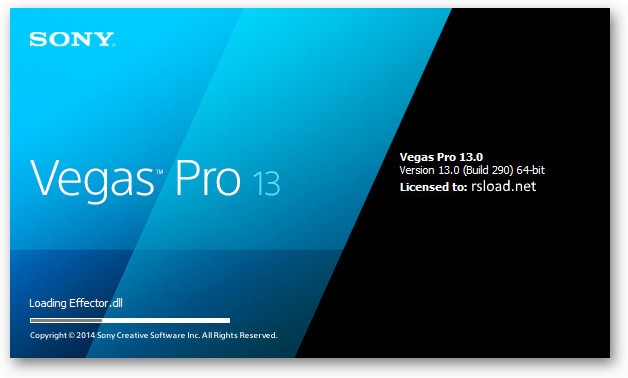 Sony Vegas Pro 13.0 Build 543