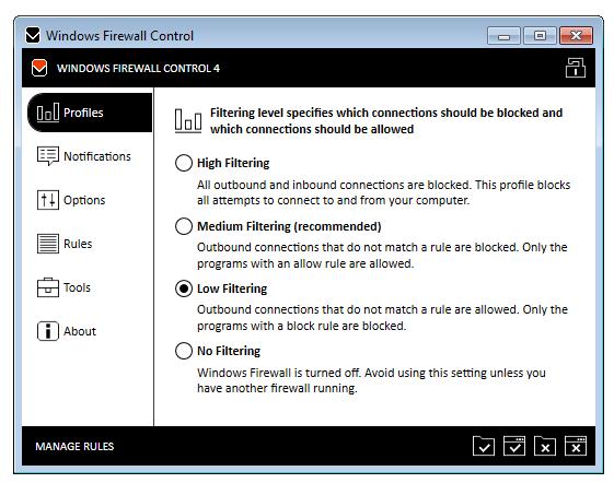 Windows Firewall Control 4.8.5.0