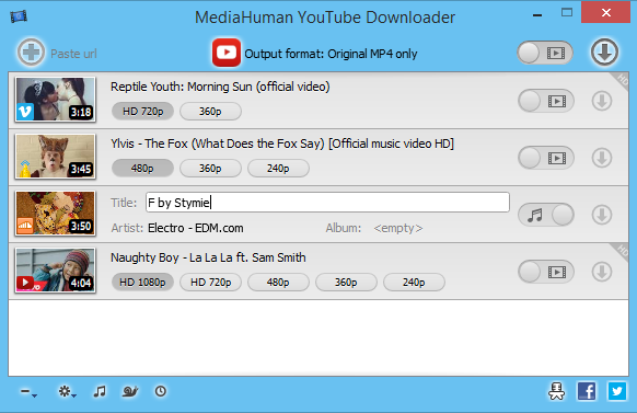 MediaHuman YouTube Downloader 3.9.8.3