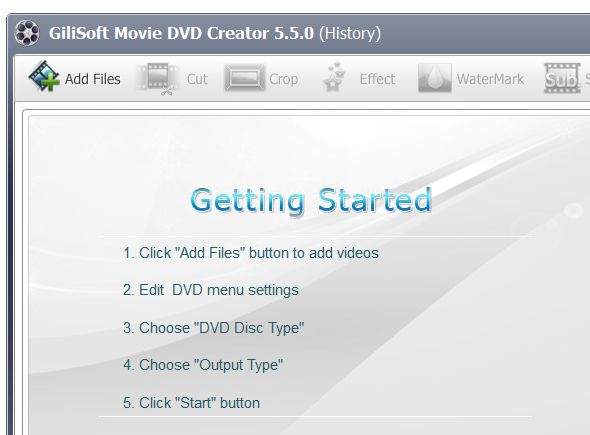 GiliSoft Movie DVD Creator v6.0.0