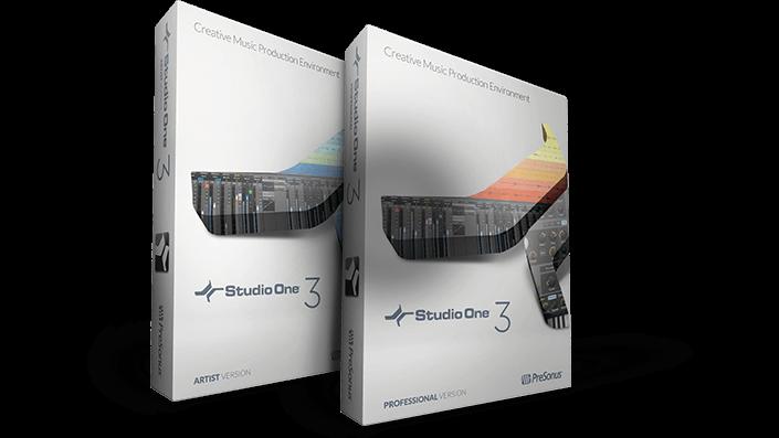 PreSonus - Studio One 3 Professional 3.3.0