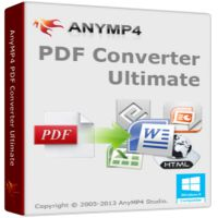 AnyMP4 PDF Converter Ultimate 3.3.12