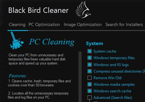Black Bird Cleaner 1.0.1.0