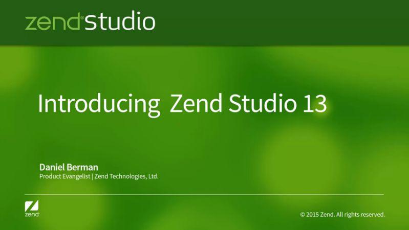 Zend Studio 13.6.0 x86
