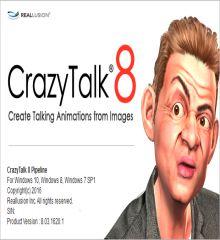 CrazyTalk Pipeline 8.1.2024.1 + Crack + Resource Pack [Win + Mac]