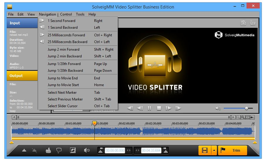 SolveigMM Video Splitter Business Edition 6.1.1707.12