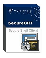 VanDyke SecureCRT and SecureFX 8.1.4 Incl Crack 32bit