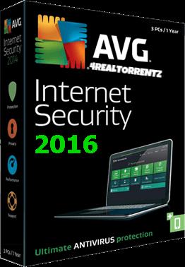 AVG Internet Security 2016 16.51.7497