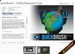 QuickBrush - Prefab Placement Tool