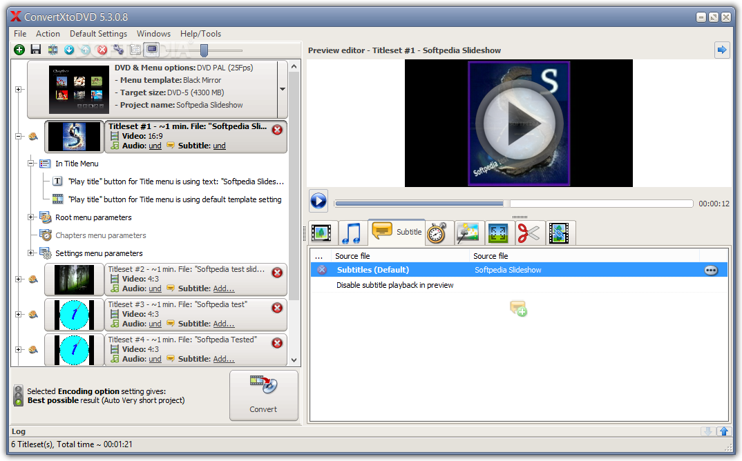 Vso convertxtodvd 6 0 patch latest download for Powerdirector slideshow templates download