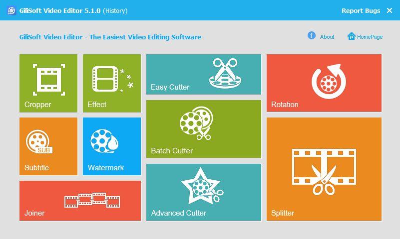 GiliSoft Video Editor 8.0