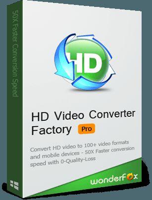 WonderFox HD Video Converter Factory Pro 13.1