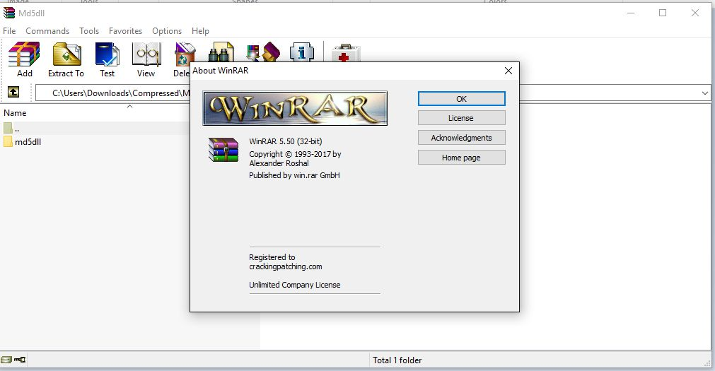 WinRAR crack free download