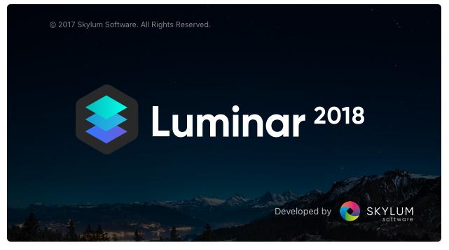 Luminar Crack 2018