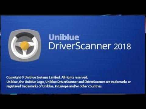 Uniblue DriverScanner Crack 2018
