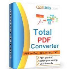 Coolutils Total PDF Converter 6.1.0.155 + Portable + key
