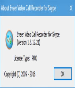 Evaer Video Recorder for Skype 1.8.12.21 + patch