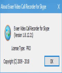 Evaer Video Recorder for Skype 1.8.12.28 + keygen