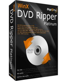 WinX DVD Ripper Platinum 8.9.1.217 Build 16.04.2019 + patch