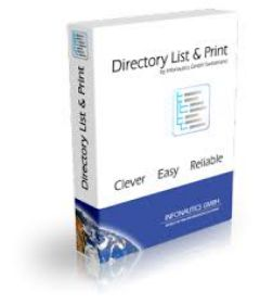 Directory List & Print Pro 3.64 + patch