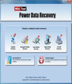 MiniTool Power Data Recovery Business Technician 8.5 incl Patch 32bit + 64bit