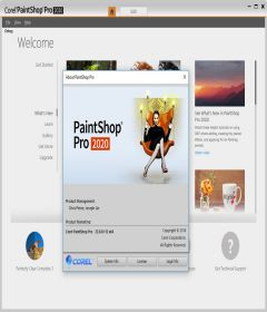 Corel Paintshop Pro 2020 v22.0.0.112 + patch