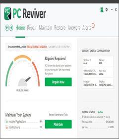 ReviverSoft PC Reviver 3.8.1.2 with 32bit + 64bit Patch