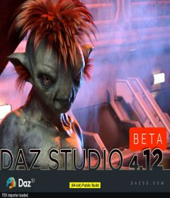 Daz Studio 4.12.0.83 Pro Edition Beta
