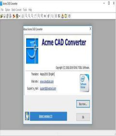 Acme CAD Converter 2019 v8.9.8.1502 + keygen