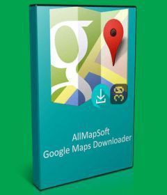 AllmapSoft Google Satellite Maps Downloader 8.329
