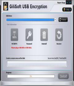GiliSoft USB Stick Encryption 10.0 + keygen