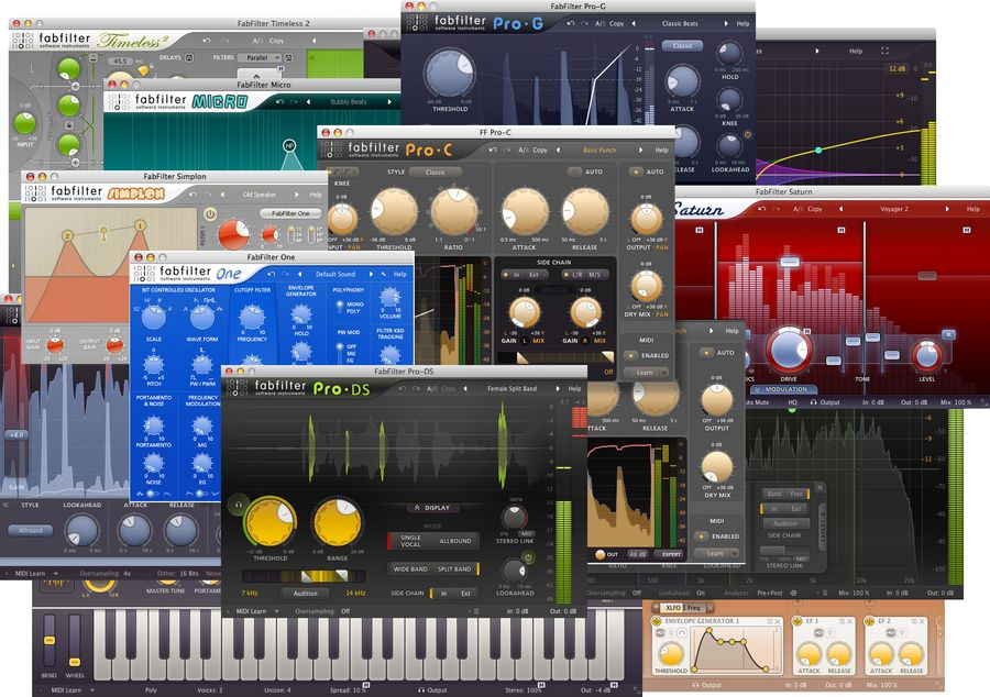 Image result for FabFilter Total Bundle crack